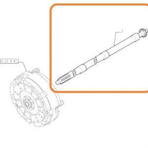 Kuyruk Mili 107cm New Holland 95.66 – TD95D – TD95A – TD95D Tier2 – TD65F – TD75F – TD85F – TD5020B – TD5030B – TD5040B Ekonomi OC061020181754