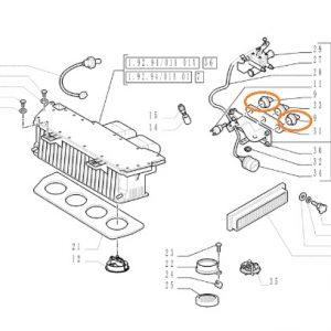 Kalorifer Düğmesi New Holland TD65D – TD75D – TD85D – TD95D OC240820181055