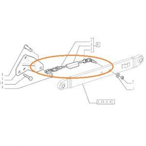 Gergi Zinciri Komple New Holland 60-66 – TD65D – TD55D – TD65D Tier2 Orjinal Kalitesinde OC010120190852