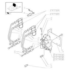 Damper Valfi 4 Çıkışlı Set New Holland TD65D – TD75D – TD85D – TD95D – TT65D – TD55D – TD65S – TD75S – TD65D Tier2 Orjinal Muadili OC051020181916
