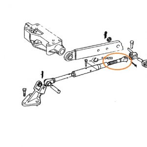 Gergi Kolu Ayar Kol Başı (Yivli) Fiat 70-66 – 80-66 Yerli İmalat OC301220181603