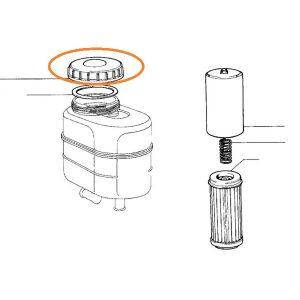 Hidrolik Yağ Depo Kapağı Contalı New Holland Fiat 55.46 – 80.66 OC220820180453