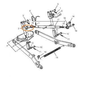 Orta Kol Pimi Lamalı Fiat New Holland 70.66 – 80.66 – 95.66 – TD65D – TD75D – TD85D – TD95D – TL100 – TD65S – TD75S Ekonomi OC071020180513