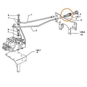 Damper Adaptörü Dişi Şıkşık Uzun Tip New Holland T5040 – T5050 – T5060 – 110.90 – TM115 – TM125 – TM120 – TM130 – TM140 Mutlu OC230420191734