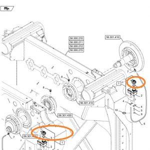 Fren Hidrolik Yağ Depo Kapağı New Holland 110-90 – TD65D – TD75D – TD85D – TD95D – TD55D Orjinal OC180420191029
