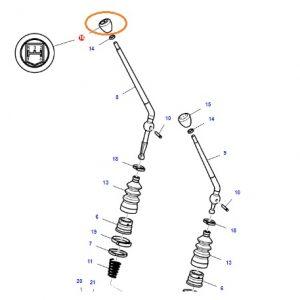 Vites Topuzu 8×2 Sabit Vitesli Şanzıman İçin Massey Ferguson 240 (Hindistan) – 2615 – 2635 Orjinal OC141220181346