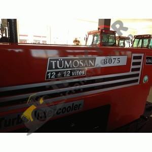 Tümosan 8075 – 8085 – 8095 12 12 Vites PVC Traktör Paspasları 2018 Model TIH000000452
