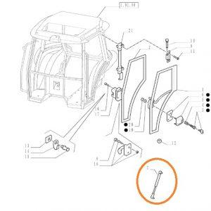 Kapı Amortisörü 270mm New Holland TT50 – TT55 – TT65 – TT75 Orjinal Kalitesinde OC240820181032