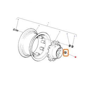 Arka Teker Bijon Somunu Massey Ferguson 265 – 285 – 265S – 285S Orjinal Muadili OC25062018123913