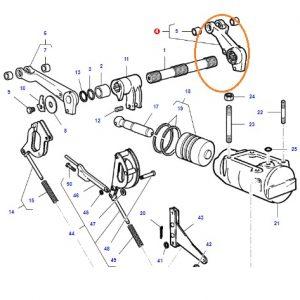 Hidrolik Kaldırma Kolu (Dövme) Massey Ferguson 135 – 240 Orjinal Muadili OC280820181715