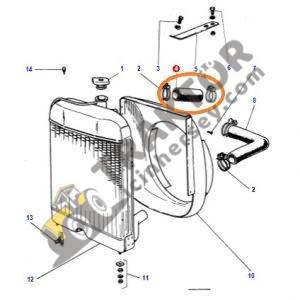 Radyatör Üst Hortumu Eğri Tip Massey Ferguson 135 – 240 – 240S Ekonomi OC110820191809