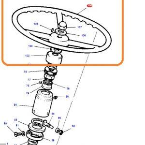 Direksiyon Simidi Massey Ferguson 35X – 135 Orjinal Tip Dissan OC120520181834
