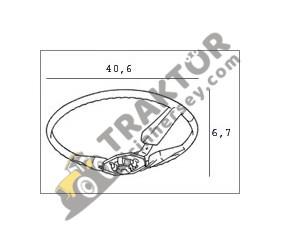 Direksiyon Simidi Kamalı Küçük Bağ Bahçe Tip Massey Ferguson 35X – 135 Eryavuz OC130520180232