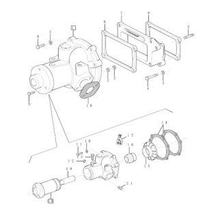 Devirdaim Komple Orjinal Rulmanlı New Holland TD – TT Serisi Su Pompası Keba OC230420191154