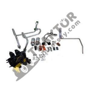 Hidrolik Spool Valf 2'liyi 4'lüye Çevirme Kiti Massey Ferguson 2630 – 2635 Orjinal OC230620181910