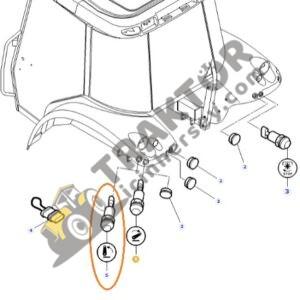 Hidrolik Kaldırma Düğmesi -Çamurluk Üstü Anahtar- Massey Ferguson Orjinal TIH000001255
