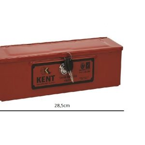 Küçük Boy Kilitli Takım Kutusu Metal Kırmızı Massey Ferguson Yerli İmalat OC08042018083788