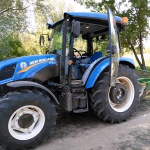 New Holland TT4.55 PVC Traktör Paspası OC140420181631