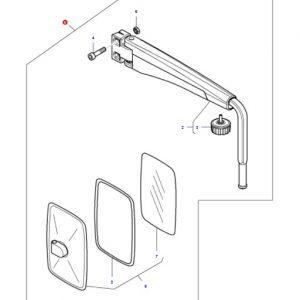 Komple Ayna Massey Ferguson 4435 – 4445 – 4455 Orjinal OC080720181153