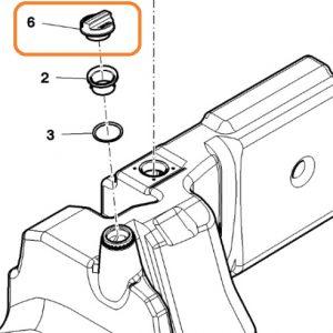 Plastik Kilitli Korumalı Mazot Depo Kapağı Massey Ferguson 3075 – 3085 – 3095 – 3105 – 5425 – 5435 – 5445 – 5455 Orjinal Muadili OC130320180442