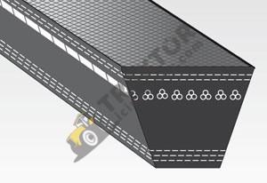 13 x 1250 Bando Vantilatör Kayışı Düz Orjinal Kalitesinde OC04032018164026